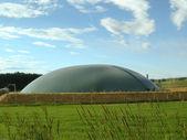 Biogas plant Schleswig - Holstein — Stock Photo