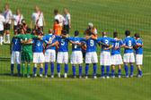 A football team — Stock Photo