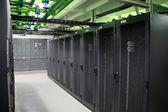 Server in a data center — Stock Photo