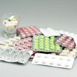 Various medications — Stock Photo