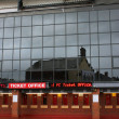 Ticket office Anfield Stadium in Liverpool — Stock Photo