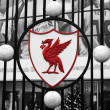 Anfield Stadium in Liverpool — Stock Photo #25016987