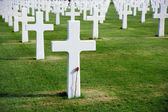 Soldier cemetery — Stock Photo