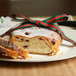 Christmas Stollen — Stock Photo