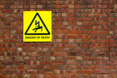 Danger of death — Stock Photo