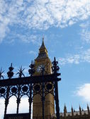 House of Parliament and Big Ben River Thames Landmark of London England United Kingdom — Stock Photo