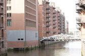 River Irwell,Manchester, UK — Stock Photo
