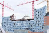 Elbe philharmonic concert hall hafencity — Stock Photo
