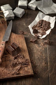 Crush chocolate — Stock Photo