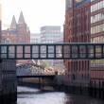 Warehouse district of Hamburg — Stock Photo #25820259