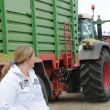 Corn crop for biogas and animal feeding — Lizenzfreies Foto