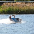 Wakeboarding, waterski — Stock Photo