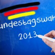 Stock Photo: Bundestag election