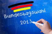 Bundestag election — Stock Photo