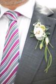 Wedding, floral decoration — Stock Photo