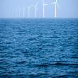 Offshore windfarm — Stock Photo