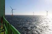 Wind park industrie — Stockfoto