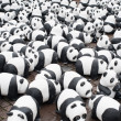 Panda Animal welfare organization — Stockfoto