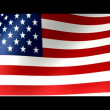 United States flag — Vídeo de stock