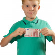 Young and pocket money — Stock Photo #34795929
