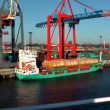 port of hamburg — Stock Video