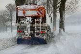Winter service — Stock Photo