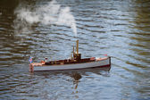 Model ship — Stock Photo