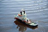 Emergency tow vessel — Stock Photo