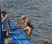 ITU World Triathlon Hamburg — Stock Photo