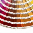 Stock Photo: Pantone Sample Color System