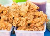 Fried chicken. — Zdjęcie stockowe