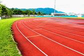 Running track — Fotografia Stock
