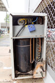 Air compressor — Stock Photo
