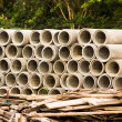 Concrete pipe — Stock Photo