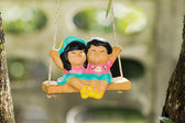 Clay dolls — Stock Photo
