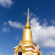 Stock Photo: Pagoda in the temple of Thailand