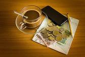 Savings to banks — Stock Photo