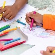 Stock Photo: Coloring