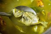 Boiled fish — Stock Photo
