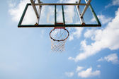 Basketbal hoepel — Stockfoto