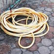 Old water hose — Stock Photo