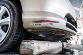 Collision car — Foto de Stock