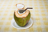 Coconut Water Drink — Stock Photo