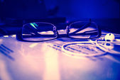 Vintage  Eye glasses. — Foto de Stock