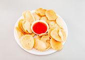 Pumpkin cracker — Stock Photo