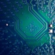 Circuit board close up — Stock Photo #25993959
