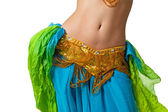 Belly dancer — Stock Photo