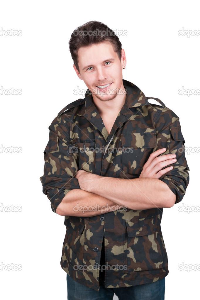 Фото красивых парней в военной форме 3 фотография