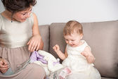 Spending time with children - the best time you can ever have — Stock Photo