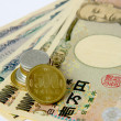 Stock Photo: Financial market currency --- yen